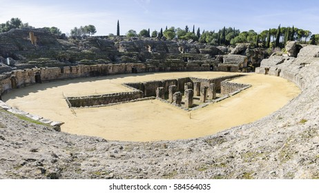 Town of Italica in Seville