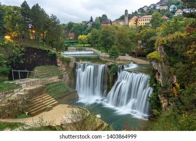 Town of Jajce and Pliva Waterfall, Bosnia and Herzegovina