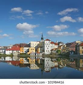 Town Jindrichuv Hradec, South Bohemia, Czech Republic