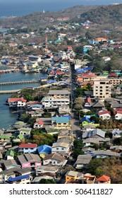 Town, Koh Sichang.