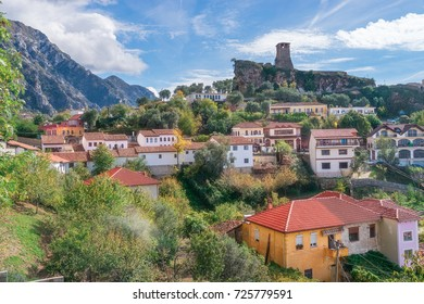 The Town of Kruje in Albania