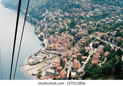 Town in lake Como, Italy