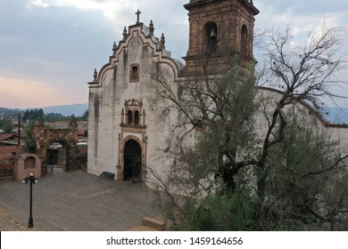 Tzintzuntzán is a town  located in the north of Michoacán state, 53 km from the capital of Morelia and 17.5 km from Pátzcuaro, located on the northeast shore of Lake Pátzcuaro.