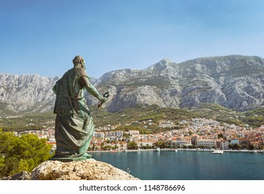 Town of Makarska, Croatia