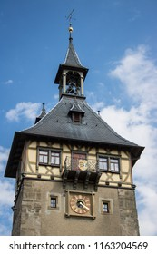 Town Marbach in Germany