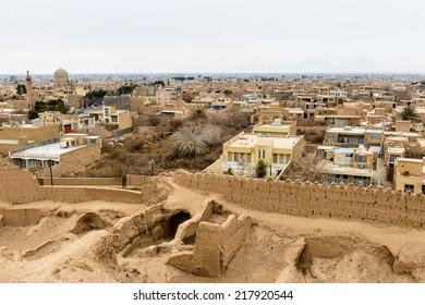Town of Meybod, Iran