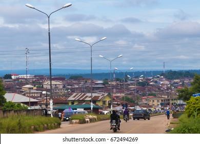 A Town In Nigeria