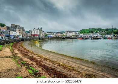 The town of Oban, Argyll, Scotland