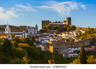 Town Obidos - Portugal - architecture background