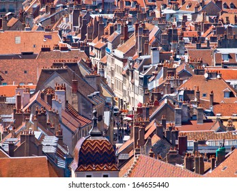 Town Overview of a Medieval European City