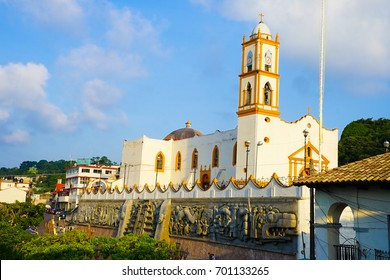 Town of Papantla in Mexico