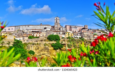 The town of Santa Severina in the Province of Croton, Calabria, Italy.