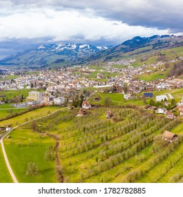 The town of Schwyz is the capital of the canton of Schwyz in Switzerland.