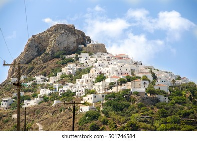 The town of Skyros island ,Sporades, Greece