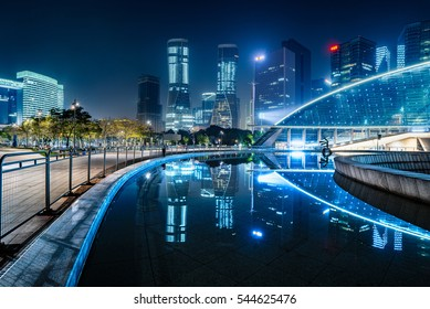 town square in Shenzhen,China.