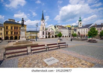 Town square of Trutnov - Czech Republic