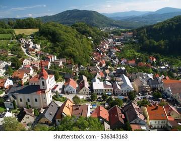 Town of Stramberk, Czech Republic