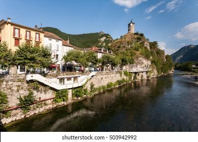 Town of Tarascon-sur-Ariege