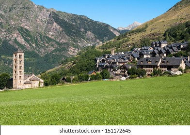 Town of Taull, Vall de Boi, Catalonia (Spain)
