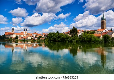 town Telc, Unesco Czech republic, Europe
