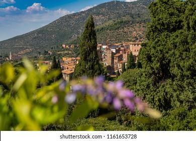 Town of Tivoli Italy