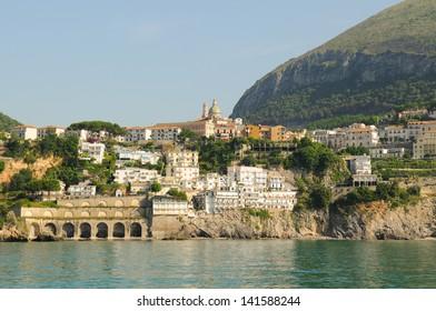 Town of Vietri Sul Mare on the Amalfi Coast, Italy