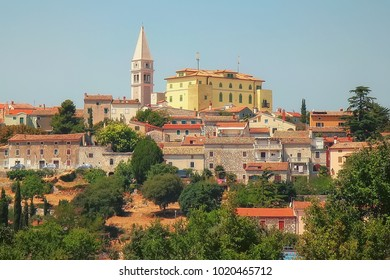 Town of Vrsar, travel destination in Croatia