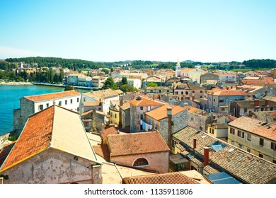 Town of Zadar and panorama view city