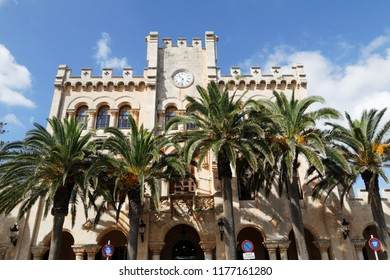 Townhall in Ciutadella, Menorca, Spain