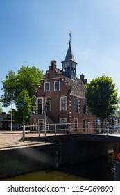 Townhall of Dutch village Balk, Friesland