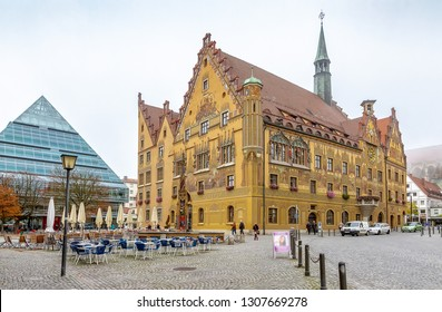 The townhall of Ulm, Germany