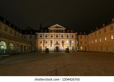 At the townhall of Wurzburg, Lower Franconia, Bavaria, Germany