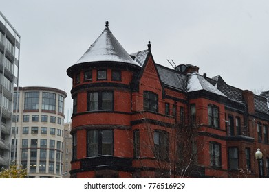 Townhome in Washington DC - Shutterstock ID 776516929