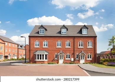 Townhouse on elegant english estate