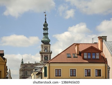 Townhouse in Zamosc town. Poland