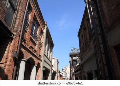 townscape of Bo-Pi-Lian historic street, Taipei, Taiwan