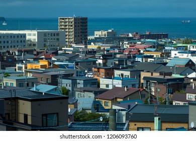 township of sapporo city hokkaido japan