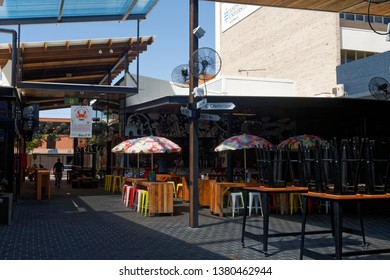 Townsville, QLD/Australia-04/25/2016:  Empty bar in Townsville on ANZAC Day.