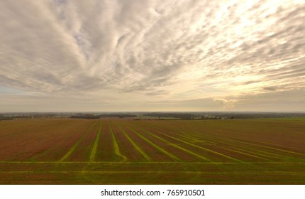 Towton battlefield from the air
