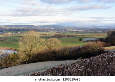 The Towy Valley near Bethlehem, Carmarthenshire, Wales.