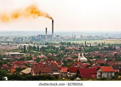 Toxic air above the city