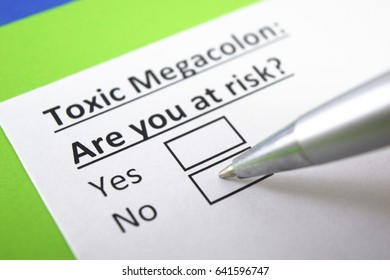 Toxic megacolon: are you at risk? Yes or no