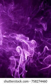 Toxic purple smoke.