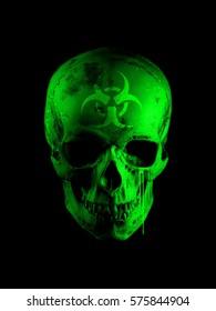 Toxic Skull front