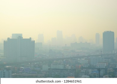 Toxic smoke, small dust in Bangkok