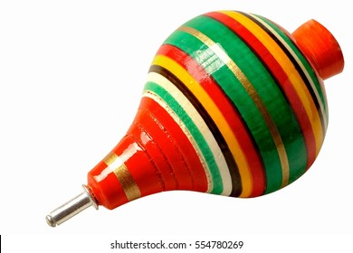 Spinning Top Toy Images Stock Photos Vectors