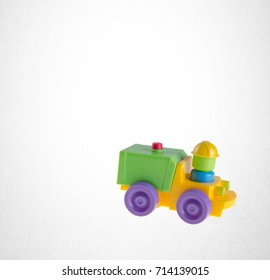 Toy or car toy on the background