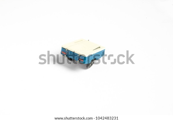 toy car on white background