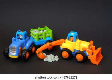 toy cars for construction