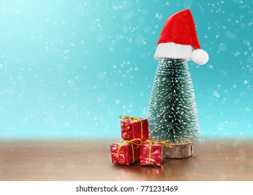 toy christmas tree with gifts